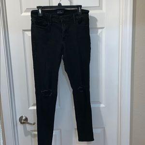 Abercrombie & Fitch Harper super skinny jeans